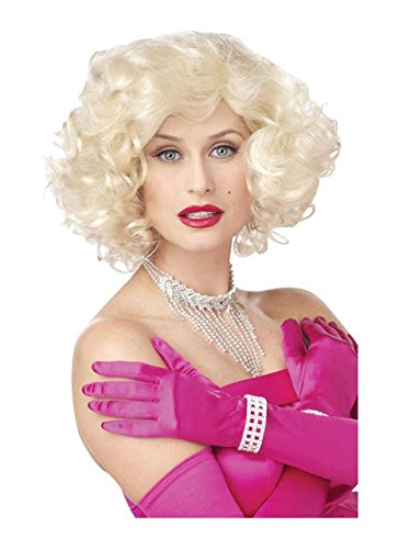California Costumes Marilyn Wig Standard Yellow (Marilyn Wig Sexy Blonde)