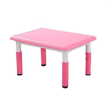 Liangjun - Taburete de Mesa para niños, Mesa de Manualidades para ...