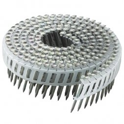Speciality 2 1/4'' Aluminum 15 degree coil nails