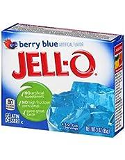 JELL-O Gelatina, 85 g, sabor Berry Blue