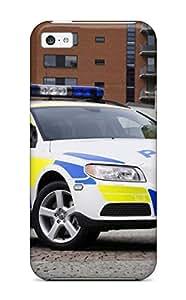 HqoJThB24240XDPMh Anti-scratch Case Cover ZippyDoritEduard Protective 2008 Volvo V70 Police Car Case For Iphone 5c