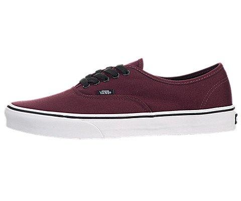 Vans Unisex Authentic Skate Shoe, Port Royale/Black, Size 9.5 Mens/11 Womens