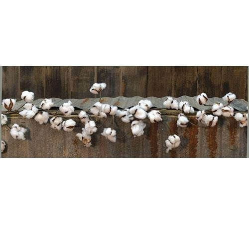 Heart of America Country Cotton Ball Garland