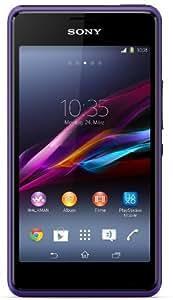 "Sony Xperia E1 - Smartphone libre Android (Pantalla 4"", cámara 3 Mp, 4 GB, Dual-Core 1.2 GHz, 512 MB RAM), púrpura"