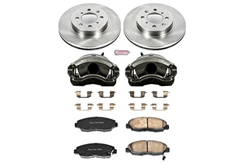 Power Stop KCOE690 Autospecialty 1-Click OE Replacement Brake Kit with Calipers