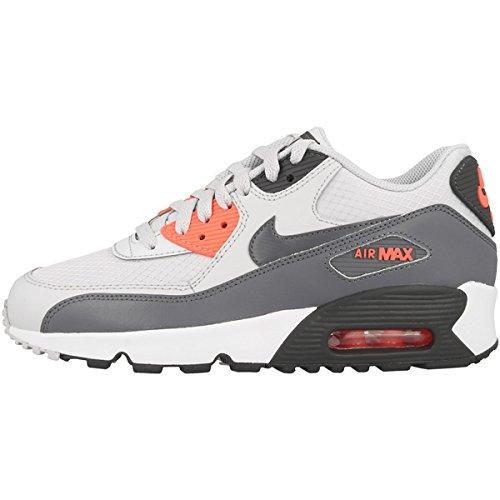 Nike Air Max 90 Mesh GS Schuhe schwarz silber im Shop Damen