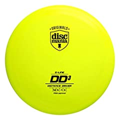 The DD3 is the distance driver that has been optimized to bring massive glide and distance to those who have the power. The DD3 is a stable to overstable distance driver that offers a ton of glide for players who are able to get this disc up ...