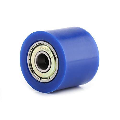 Aandrijfkettingpoelie Rolschuif Spanner Wielgeleider voor straatfiets Motorfiets ATV 8 mm/10 mm(Blauw 8 MM)