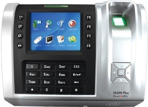FingerTec Time Attendance TA200 Plus Color Fingerprint + RFID Time Clock by Fingertec