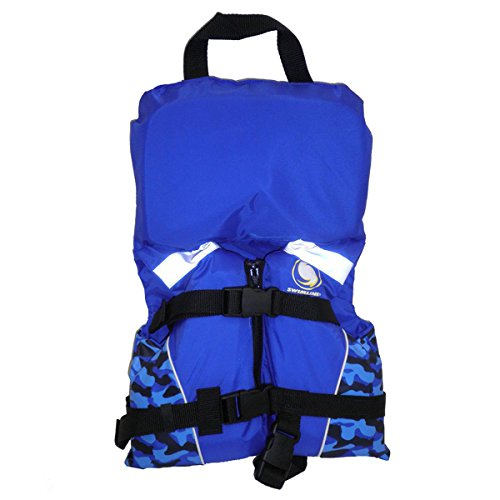 One Step Ahead Blue Infant Boy Life Vest - USCG Approved ...
