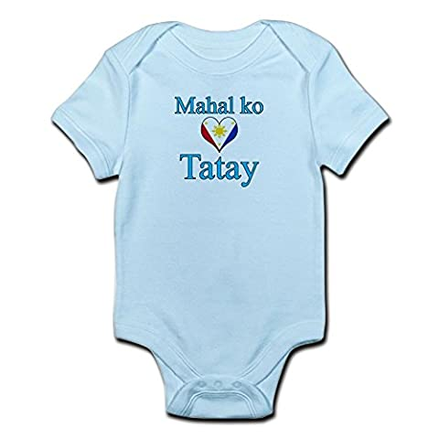 CafePress - I Love Dad (2) (Filipino) - Cute Infant Bodysuit Baby Romper (Infant Filipino)