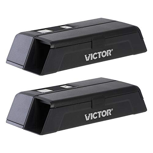 Victor M1-2P M1 Smart-Kill Wi-Fi Electronic Mouse Trap-2 Pack, Black