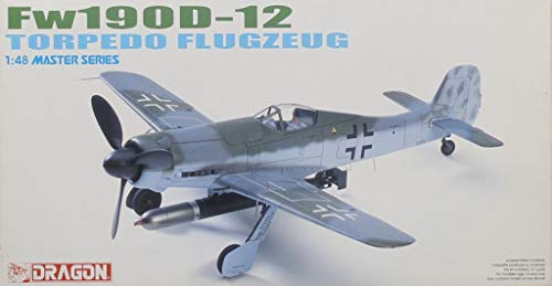 Dragon DML 1:48 Fw-190 D-12 Torpedo Flugzeug Plastic for sale  Delivered anywhere in USA