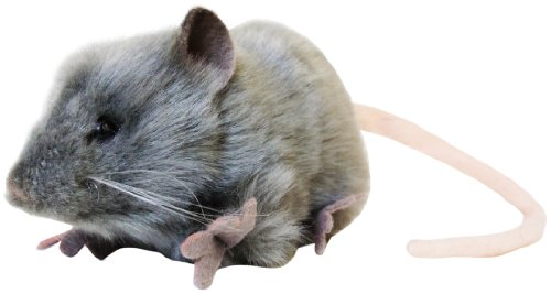 Hansa Mouse Plush, Gray
