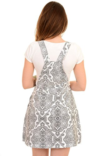 Run & Fly - Robe - Imprimé Cachemire - Femme Blanc Blanc