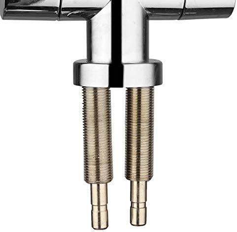Elegant Glatte und Refined freundliches Design 1/4 '' Double Holes Chrome RO Umkehrosmose Spülbeckenstrinkwasserfilter Hals-Hahn, elegant