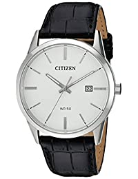 Citizen Men's BI5000-01A New Quartz White Dial Wrist Watch