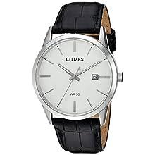 Citizen Reloj Analógico para Hombre de Cuarzo con Correa en Cuero BI5000-01A