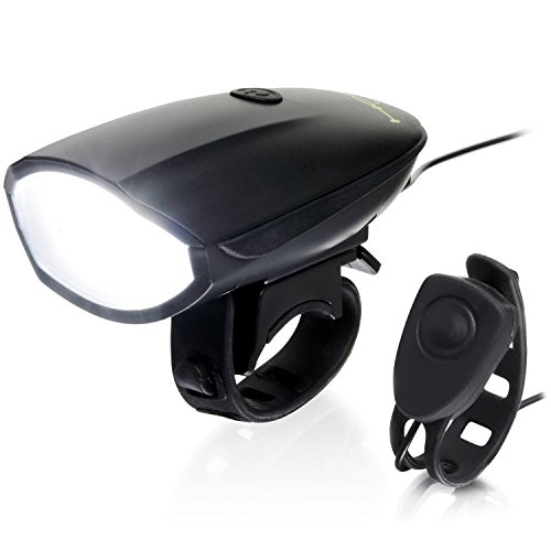 Hornit LITE Bike Horn & LED Headlight (120 dB & 250 Lumen lamp) Cycling Light Bicycle Siren