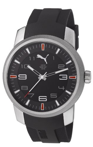 Puma PU103071001 Essence 3HD Silver Black Watch