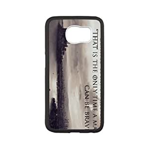 Samsung Galaxy S6 Phone Case White Game of Thrones HOD532943