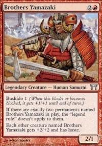 Magic: the Gathering - Brothers Yamazaki (A) - Champions of Kamigawa