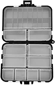 Fishing Lure Box, Double-Sided Fishing Tackle Baits Hook Storage Container Case