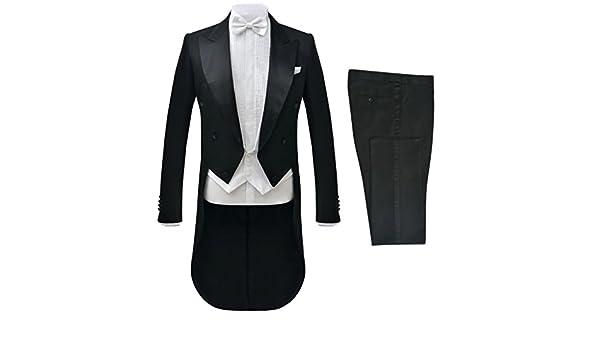 Festnight- Traje de Vestir Hombre 2 Piezas Negro Talla 56: Amazon ...