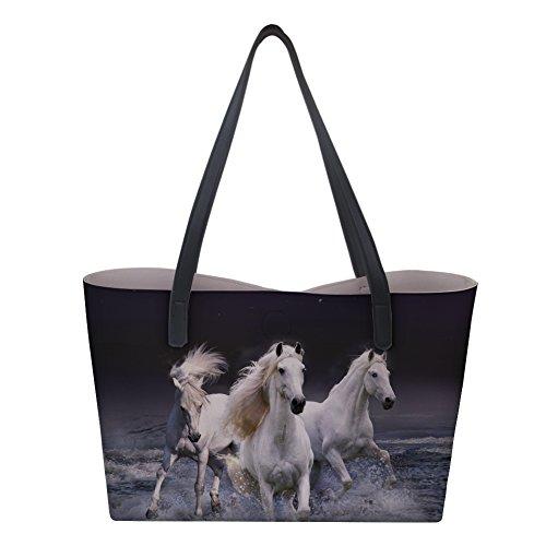 grands à pour main Showudesigns chevaux sac fqITU