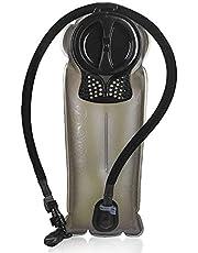 Unigear Trinkblase, 2L, 2,5L, 3L Hydration Blase staubdichte und antimikrobielle Hydration Bladder Wasserblase Trinkbeutel Wassertank mit Schlauch ALS Trinksystem MEHRWEG (2L-Blau)