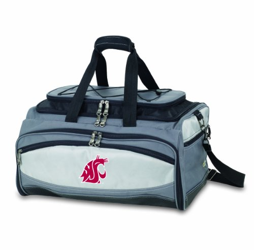 NCAA Washington State Cougars Buccaneer Tailgating Cooler with Grill by PICNIC TIME