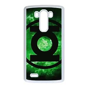 LG G3 Cell Phone Case White Green Lantern uupy
