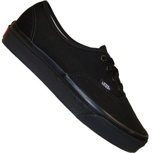 Black Noir Monochrome Black Authentic Vans 43 Wall Off Basket The 0qawR