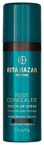 Rita Hazan Root Concealer for Gray Coverage-Dark Brown/Black