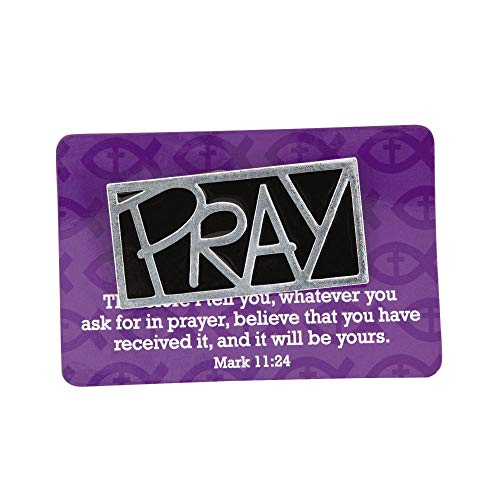 Pray Pins with Card by Fun Express