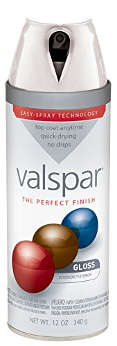 Valspar 410-85000 SP 12 Oz White Gloss Premium Enamel Spray