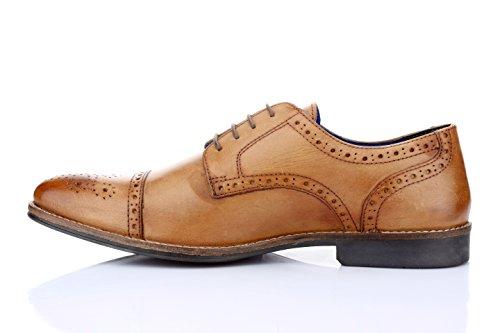 Red tape Hommes Claydon bronzer Chaussure formelles