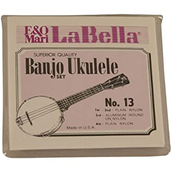 High G Set of 4 Strings Aquila New Nylgut AQ-42 Banjo Ukulele Strings