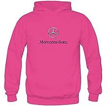 TIANRUN Women's Mercedes-Benz Automobile Manufacturer Logo Hoodie Size XXL ColorName