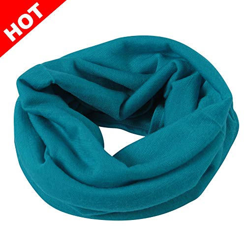 - Merino Wool Neck Gaiter, NEUYILIT Cozy Soft Seamless Neck Warmer for Hiking, Fishing 1 Pack Light Blue