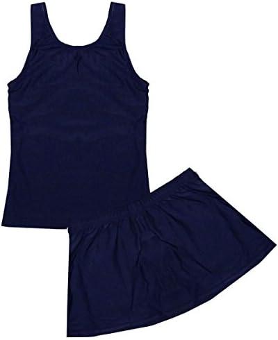 アスナロ (수영복) 스쿨 수영복 분할 아 スカパン 수영복 디스크 물 스윔 웨어 / Asunaro (Swimwear) School Swimsuit Separate Girls` Skapan Swimsuit Sukwater Swimwear
