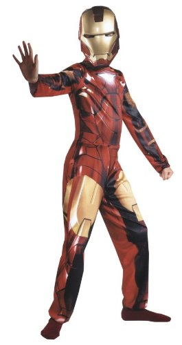 Mark VI Children's Iron Man Costume (Thor Muscle Toddler Costume)