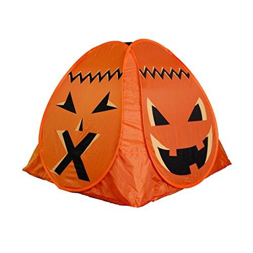 Hometom Cute Pumpkin Cartoon Children Play House Tents Portable Indoor Outdoor Children Tents (Orange)