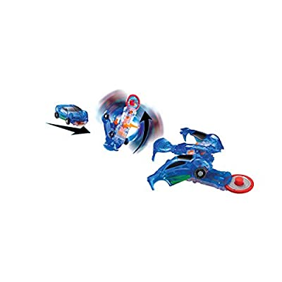 Screechers Wild US683111 Level 1 Jayhawk Flipping Morphing Toy Car Vehicle, 3'' x 1'', 3