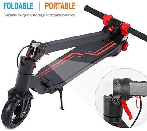 OTTO OUTSTANDING ORIGINAL Elektro Scooter LED Light Fast Speed 18 km//h 6,5 Zoll E-Scooter 9kg Faltbare und H/öhenverstellbare Elektroroller f/ür Teen und Adult Mixed