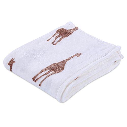 Blanket Giraffe Throw (Berkshire Blanket Velvety Plush Giraffe Throw Blanket)