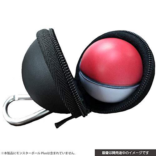 (닌텐도 스위치 포켓몬스터) Nintendo Switch CYBER ・ EVA파우치 ( SWITCH 몬스터 볼 Plus 용) 블랙