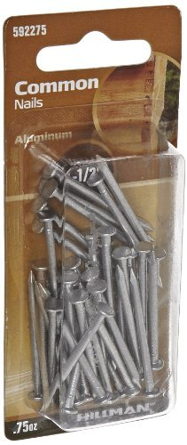 The Hillman Group 592275 Aluminum Common Nails 1-1/2-Inch, .75-Ounce (2)