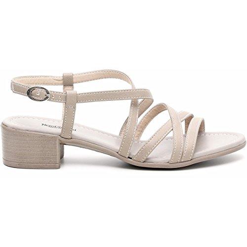 Nero Giardini - Sandalias de vestir para mujer MELANGE SABBIA