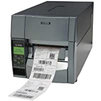 Citizen America CL-S700DT-E CL-S700 Direct thermal Barcode Printer with Power Cord, Ethernet, Gray